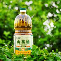寿源 长寿之乡正品袍里健山茶油调和物理压榨食用油1.8升*2瓶/提